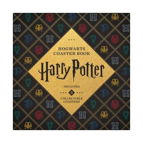Harry Potter Hogwarts Coaster Book - by  Danielle Selber (Board_book) - image 1 of 1