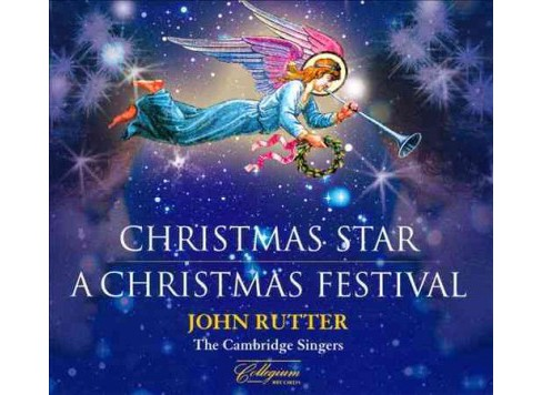 Cambridge singers - Rutter:Christmas star a christmas fes (CD) - image 1 of 1