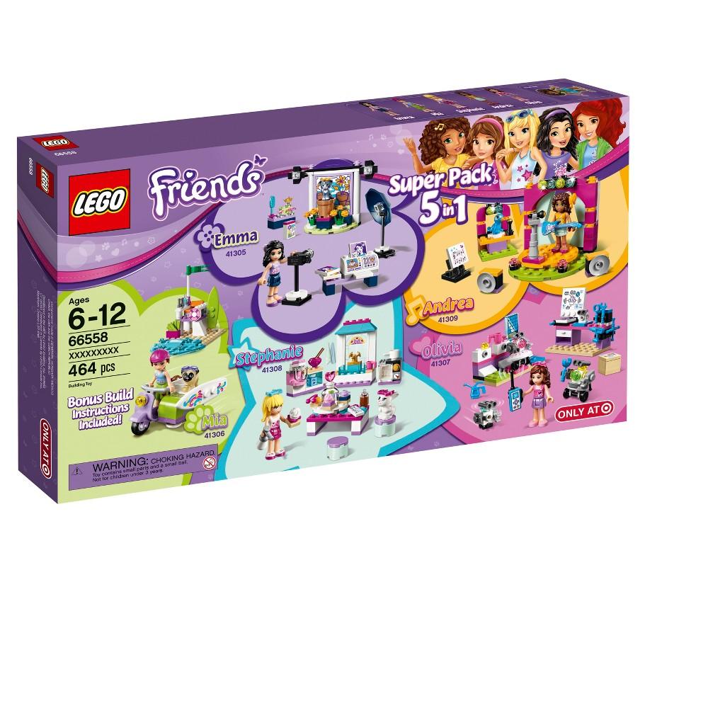 Lego Friends Super Pack 66558 5pk