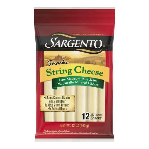 Sargento Natural Mozzarella String Cheese - 12ct - image 1 of 4