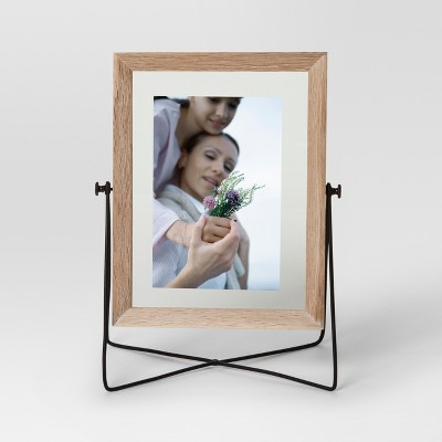 Easel Single Image Frame 5x7 - Ash/Black - Project 62™