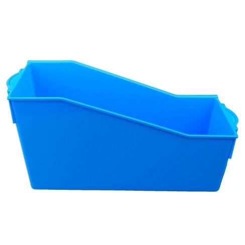Book Storage Bin Blue - Up&Up™ - image 1 of 3