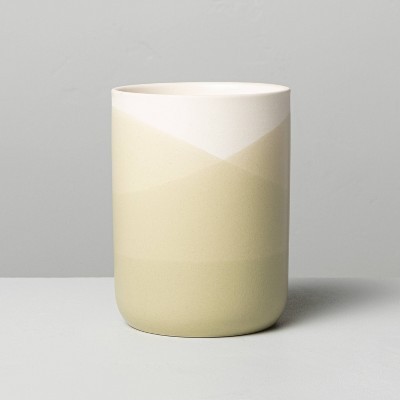 7.76oz Zest Dipped Ceramic Candle - Hearth & Hand™ with Magnolia