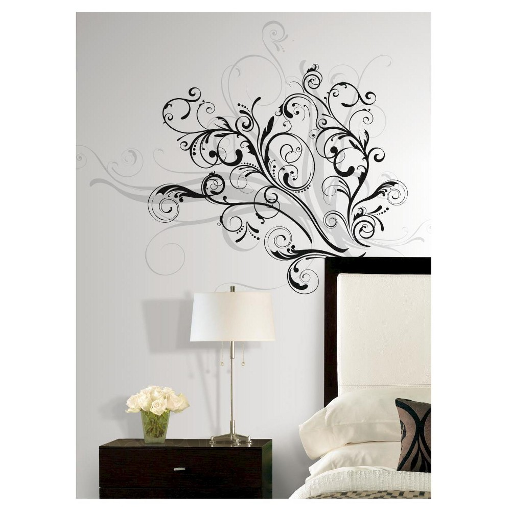 Image of RoomMates Forever Twined Peel & Stick Giant Wall Decal