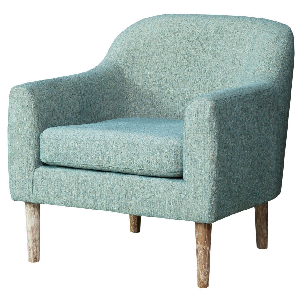 Winston Retro Chair Blue/Green - Christopher Knight Home, Turqoise