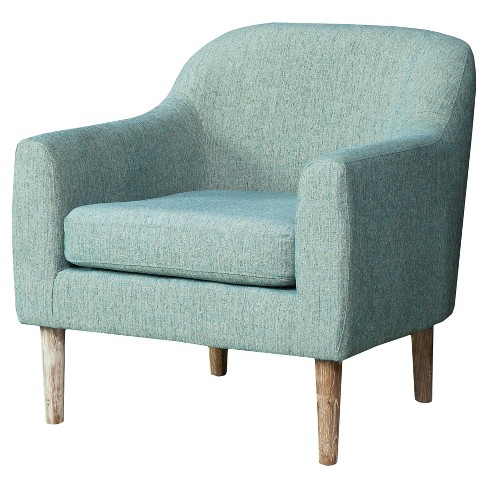 Winston Retro Chair Blue/Green - Christopher Knight Home - image 1 of 4