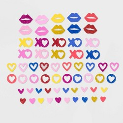 Large Multi - Color Valentine's Sticker Bucket - Spritz™