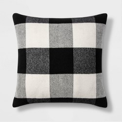 Woven Buffalo Check Throw Pillow - Threshold™