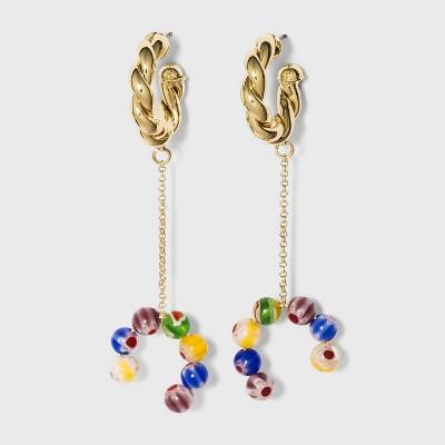 SUGARFIX by BaubleBar Mixed Media Chain Ear Cuffs