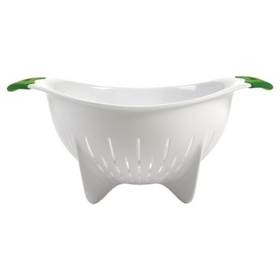 OXO Softworks Colander with Green Handles