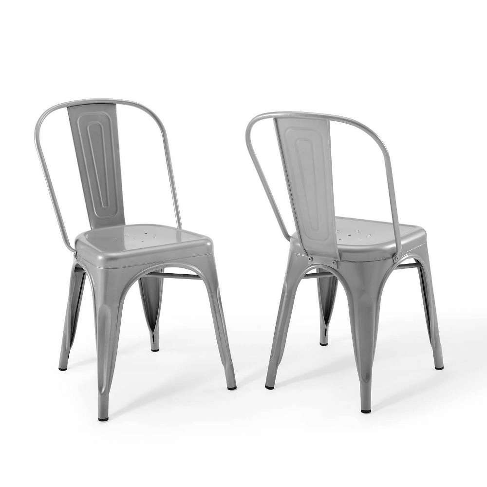 Best Set of 2 Promenade Bistro Dining Side Chair  - Modway