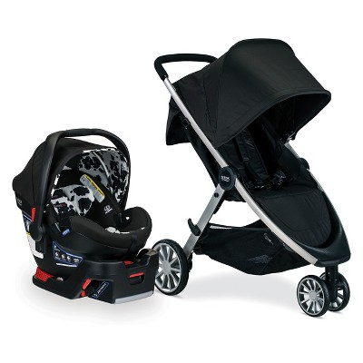 Britax B-Lively/B-Safe 35 Ultra Travel System - Cowmooflage