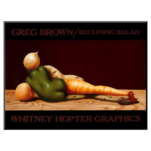 Art.com - Reclining Salad by Greg Brown - Mounted Print - image 1 of 1