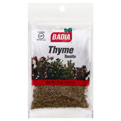 Badia Thyme Leaves - 0.5oz