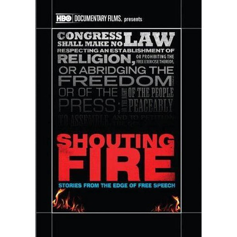 Shouting Fire: Stories from the Edge (DVD) - image 1 of 1