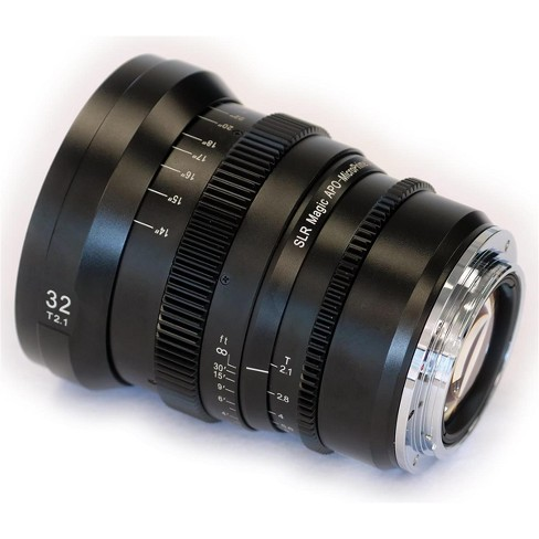 SLR Magic APO MicroPrime Cine 32mm T2.1 Lens for Canon EF Mount - image 1 of 1