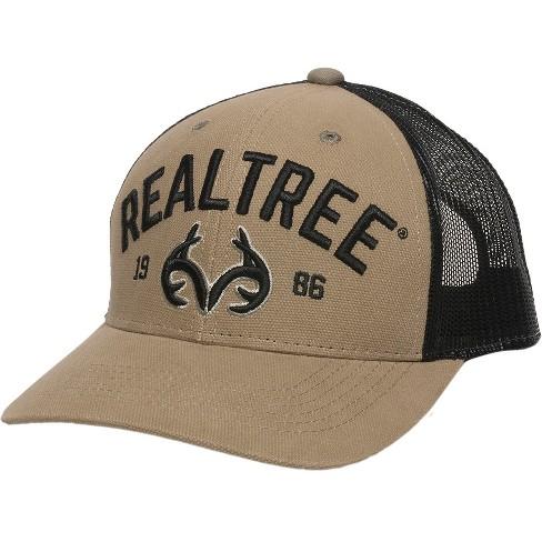 Men s Realtree Baseball Cap - Khaki Black One Size   Target 413b6b7f53b