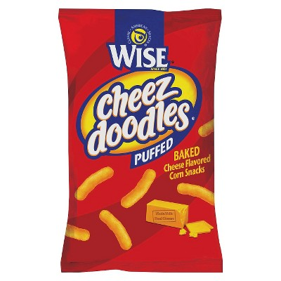 Wise Puffed Cheez Doodles - 8.5oz