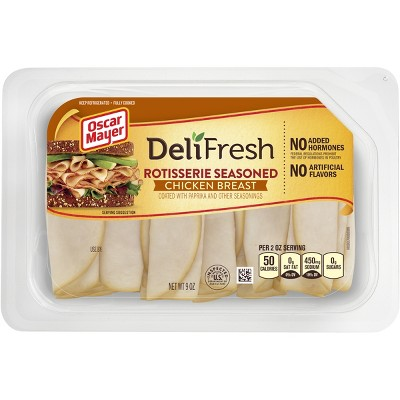 Oscar Mayer Deli Fresh Rotisserie Seasoned Chicken Breast -9oz