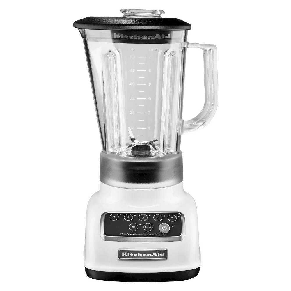KitchenAid Multifunction 56oz 5-Speed Blender – White KSB1570 14866850