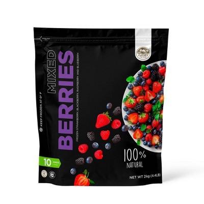 Nature Prime Mixed Berry Frozen Fruit Blend - 70.4oz