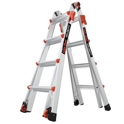 Little Giant Ladder Systems 300 lb ANSI Type IA Aluminum Ladder Gray