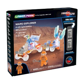Laser Pegs Mars Explorer