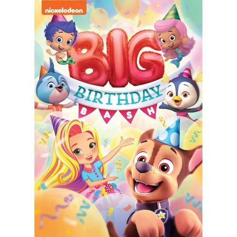 Incredible Nick Jr Big Birthday Bash Dvd Target Funny Birthday Cards Online Alyptdamsfinfo