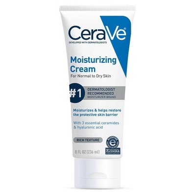 CeraVe Moisturizing Cream For Normal To Dry Skin - 8 fl oz
