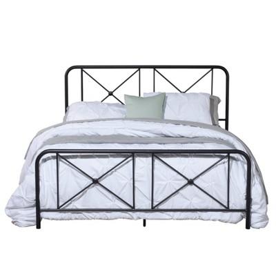 Williamsburg Metal Bed Black - Hillsdale Furniture