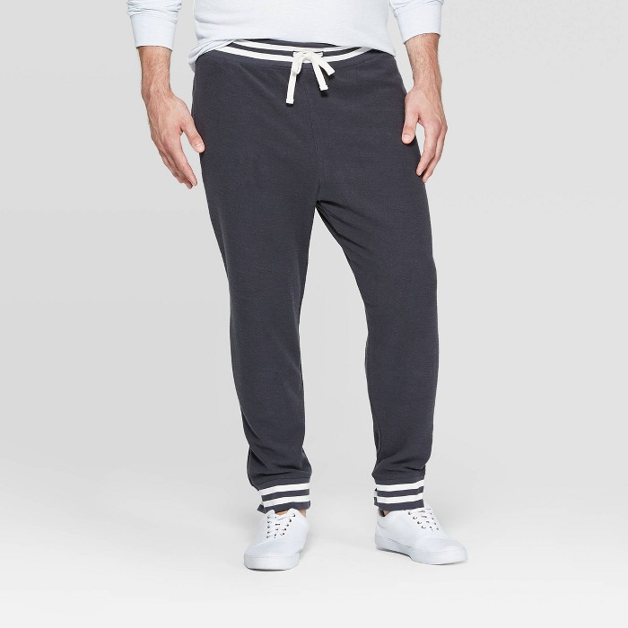 Men's Big & Tall Casual Fit Jogger Pants - Goodfellow & Co™ Zodiac Night - image 1 of 3