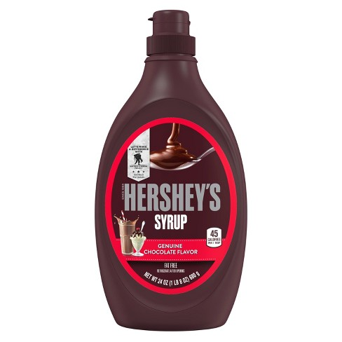 Hershey's Syrup Genuine Chocolate Flavor - 24oz - image 1 of 4