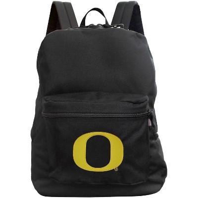 NCAA Oregon Ducks Black Premium Backpack