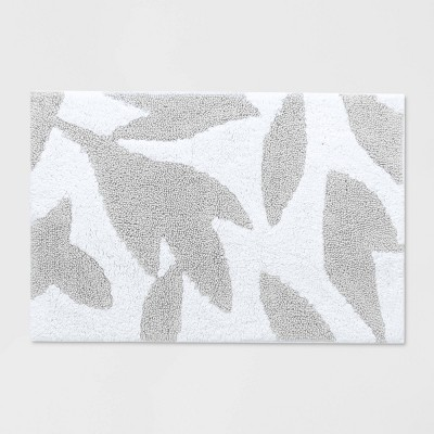 Textured Bath Rug Silver - Opalhouse™