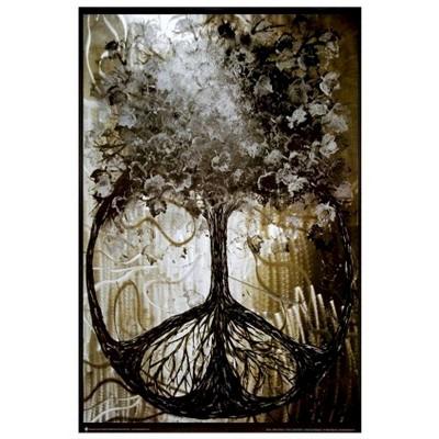 Art.com - David Wolcott Wilhelm (Tree of Peace)Framed Poster