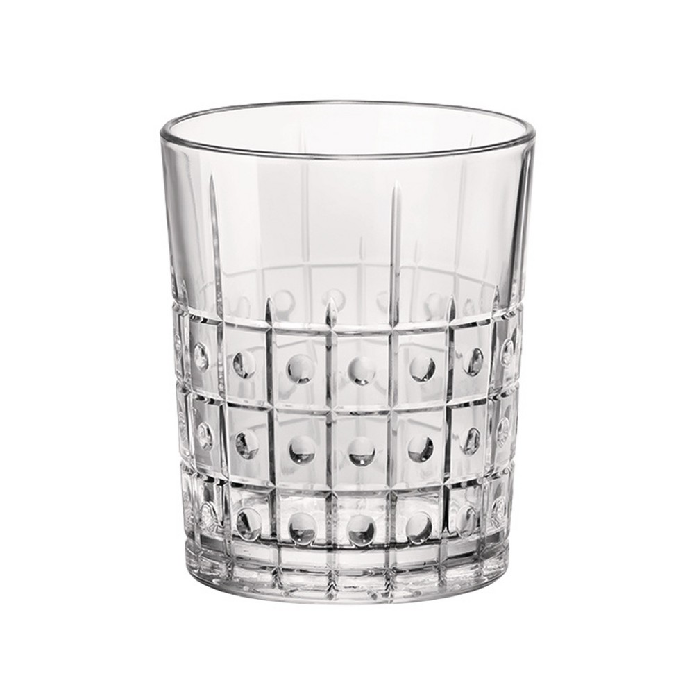 Image of Bormioli Rocco 13.5oz Este Double Old-Fashioned Glass, Clear