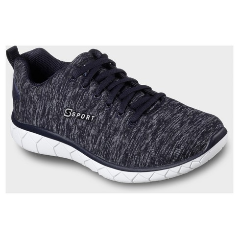076a6fef7c9f Women s S Sport By Skechers Resplendent Knit Athletic Shoes - Navy ...