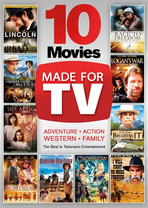 10 movies made for tv (DVD) - image 1 of 1