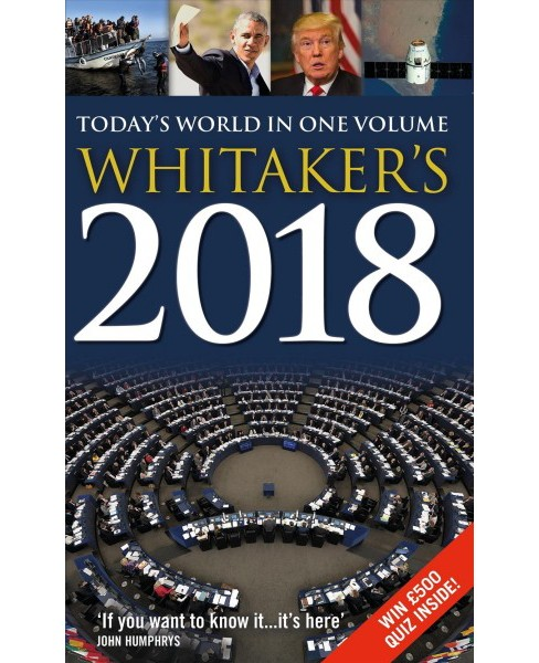 Whitaker's 2018 (Hardcover) - image 1 of 1