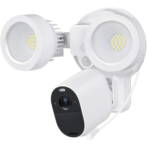 Wasserstein 3-in-1 Floodlight, Charger and Mount for Arlo Essential Spotlight and Essential XL Spotlight Camera (Camera Not Included) (White) - image 1 of 4