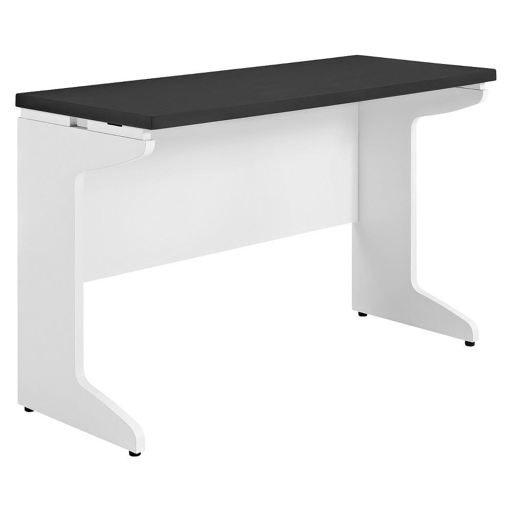Aerotech Bridge Work Table White/Gray - Room & Joy