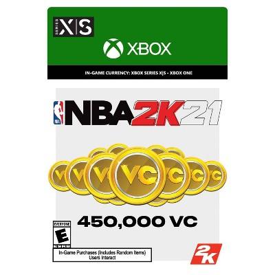 NBA 2K21: 450,000 VC - Xbox Series X S/Xbox One (Digital)