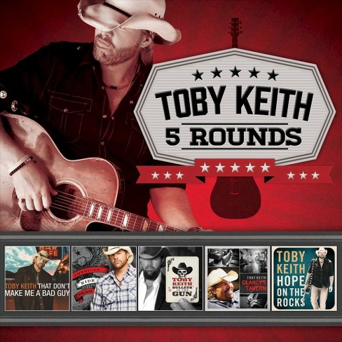 Toby keith - 5 rounds (CD) - image 1 of 1
