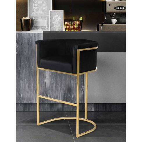 Emery Barstool - Chic Home Design - image 1 of 4