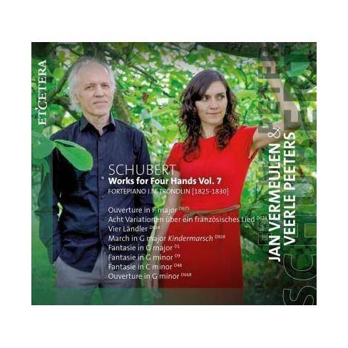 Jan Vermeulen - Schubert Works For Four Hands Vol. 7 (CD) - image 1 of 1