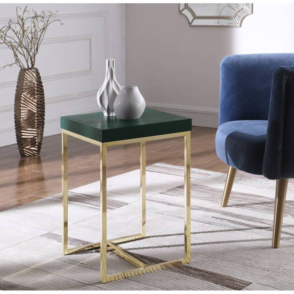 Lame Side Table Green - Chic Home Design was $169.99 now $101.99 (40.0% off)