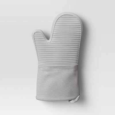Cotton Oven Mitt Gray - Made By Design™