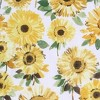 "14""x54"" Sunflower Print Semi Sheer Rod Pocket Kitchen Curtain Valance Yellow - No. 918 - image 3 of 4"