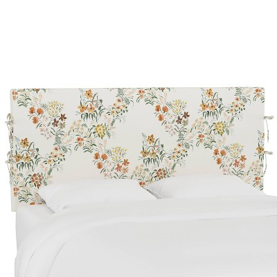 Meridian Slipcover Pattern Headboard  - Skyline Furniture
