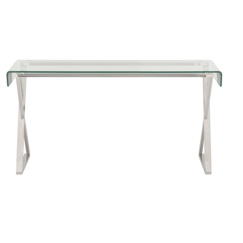 Console Table Chrome - Safavieh - image 1 of 3